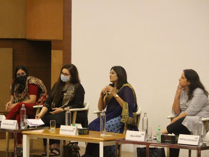 કર્ણાવતી યુનિવર્સિટી ખાતે CII સાથે મળીને મહિલાઓના હેલ્થ અને હાઇજીન પર ઇન્ટરેક્ટિવ સેશનનું આયોજન કરાયું અમદાવાદ,Ahmedabad - Divya Bhaskar