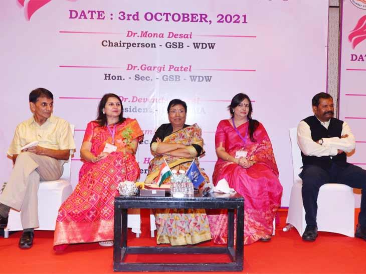 કોરોના બાદ નવી ઉર્જા સંચાર કરવાનો IMAનો પ્રયાસ, અમદાવાદની કોન્ફરન્સમાં 300 મહિલા ડોક્ટર જોડાઈ|અમદાવાદ,Ahmedabad - Divya Bhaskar