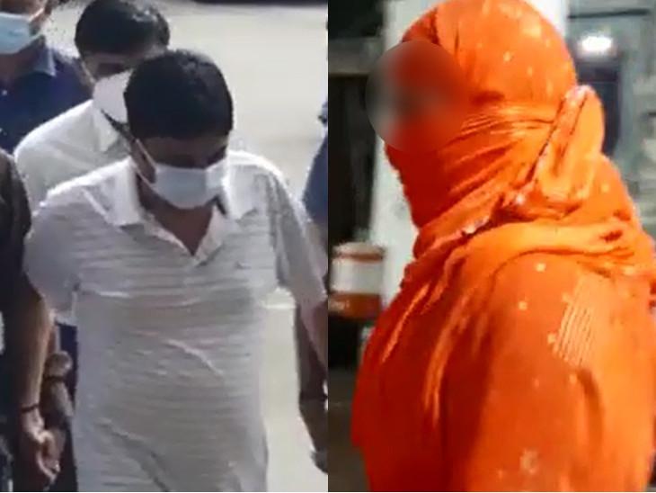 હાઇ પ્રોફાઇલ દુષ્કર્મ કેસમાં આરોપી રાજુ ભટ્ટના 3 દિવસના રિમાન્ડ પૂર્ણ થતાં આજે ફરી કોર્ટમાં રજુ કરવામાં આવ્યો હતો - Divya Bhaskar