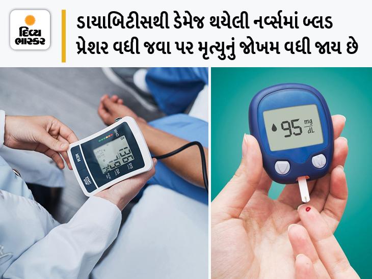 રાતે ડાયાબિટીસના દર્દીઓનું બ્લડ પ્રેશર વધે તો મૃત્યુનું જોખમ બમણું, જાણો શા માટે તે મૃત્યુ નોતરે છે; જાણો બચવાની રીત|હેલ્થ,Health - Divya Bhaskar