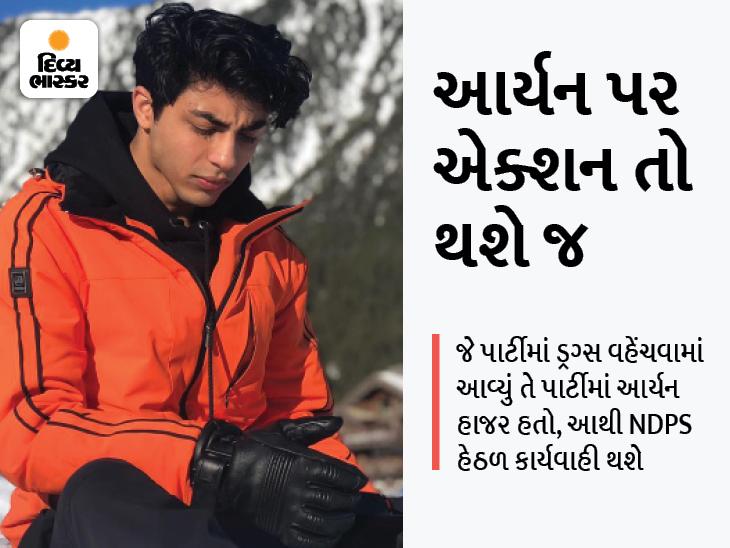 સીનિયર વકીલે કહ્યું, આર્યન પર કેસ થશે એ નક્કી, તેણે ડ્રગ્સ લીધું છે કે નહીં તેનાથી કોઈ ફેર પડતો નથી|બોલિવૂડ,Bollywood - Divya Bhaskar