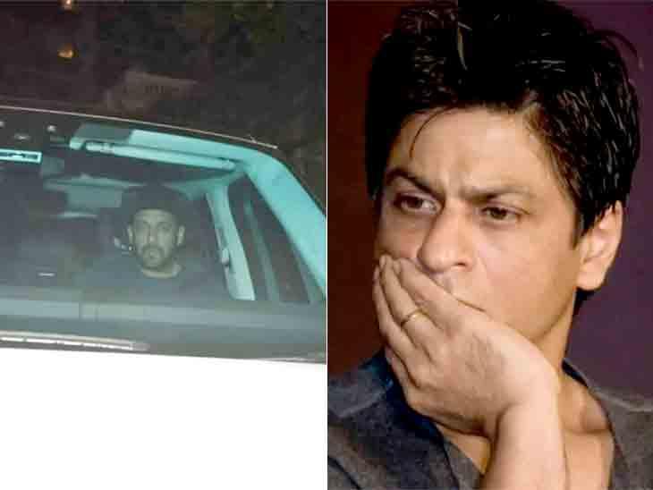 આર્યન ખાનની ડ્રગ્સ કેસમાં ધરપકડ થતાં જ સલમાન ખાન 'મન્નત' આવ્યો, SRKને સાંત્વના આપી|બોલિવૂડ,Bollywood - Divya Bhaskar