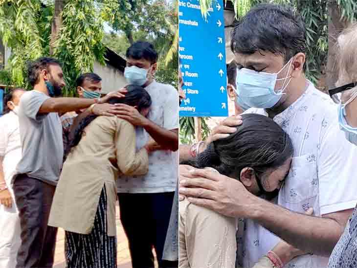 સ્મશાનમાં બાઘાને જોતાં જ ઘનશ્યામ નાયકની દીકરીએ પોક મૂકી, આસપાસના લોકોની આંખો પણ ભીંજાઈ|ટીવી,TV - Divya Bhaskar