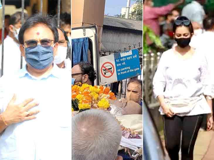 જેઠાલાલ સ્વામિનારાયણના સંતો સાથે સ્મશાનમાં આવ્યા, બબિતા-પોપટલાલ સહિતના સેલેબ્સ ભાવુક થયાં ટીવી,TV - Divya Bhaskar