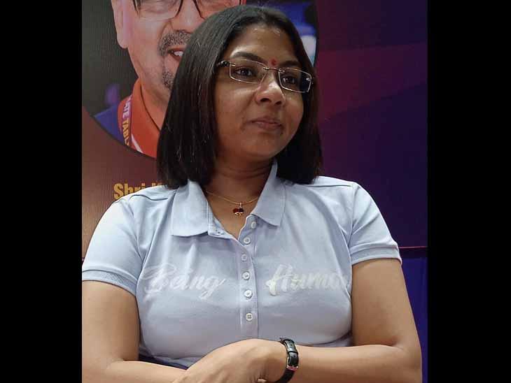 સિલ્વર મેડલ જીતનાર ભાવિના પટેલ - Divya Bhaskar