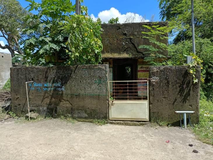 આંગણવાડીનું જર્જરીત મકાન - Divya Bhaskar
