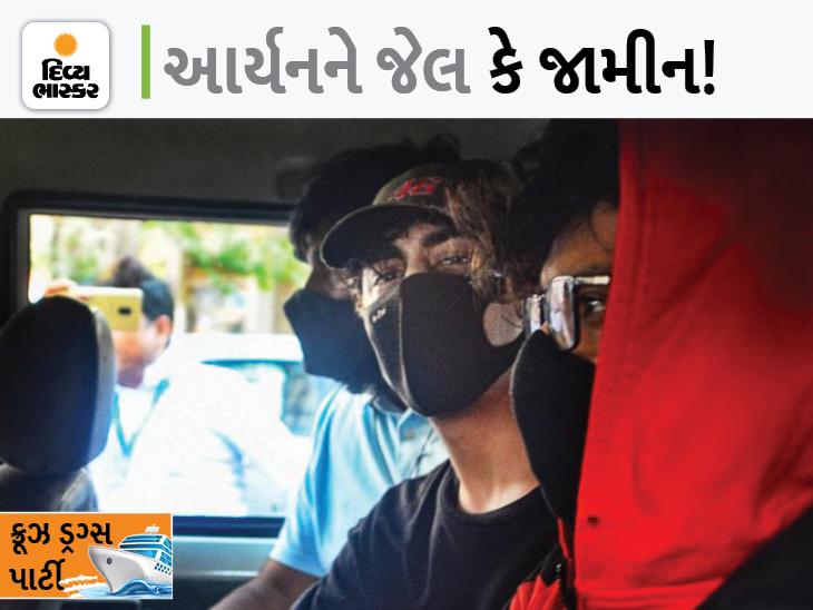 શાહરુખનો દીકરો આર્યન 4 વર્ષથી ડ્રગ્સ લે છે, NCBની પૂછપરછમાં ઘટસ્ફોટ, આજે કસ્ટડી પૂરી થઈ|બોલિવૂડ,Bollywood - Divya Bhaskar