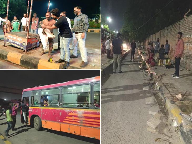 અમદાવાદ મ્યુનિસિપલ કોર્પોરેશને આખા શહેરમાંથી રાતે રોડ પર સુતેલા માત્ર 185 લોકો જ મળ્યા, પૂર્વ વિસ્તારમાં ખાલી 10 લોકો જ મળ્યા અમદાવાદ,Ahmedabad - Divya Bhaskar