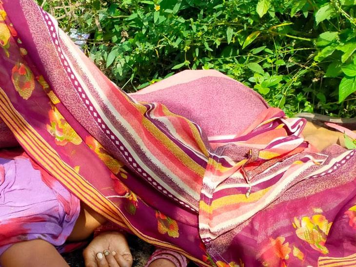 લીંભોઇમાં મહિલાની લાશ મળી - Divya Bhaskar