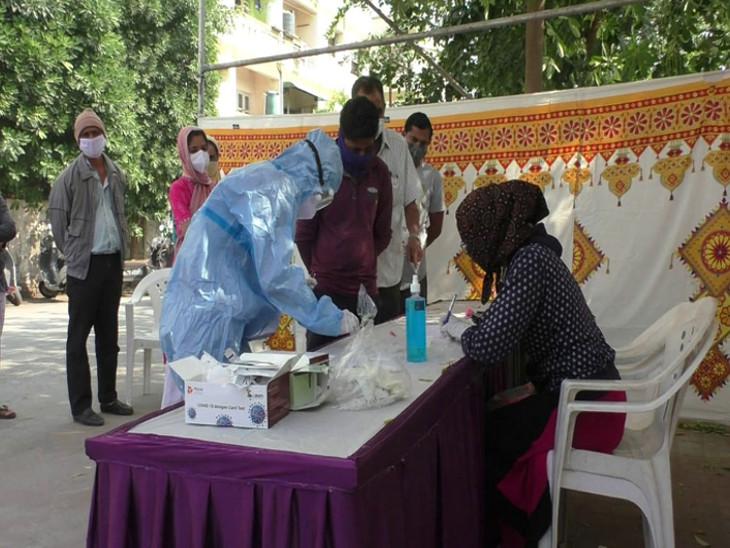 નવરાત્રિ પહેલા 14 દિવસ બાદ બે પોઝિટિવ કેસ નોંધાયા, આરોગ્ય વિભાગે કોન્ટેક ટ્રેસિંગની કાર્યવાહી હાથ ધરી|રાજકોટ,Rajkot - Divya Bhaskar