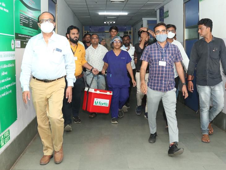 9 મહિનામાં કોરોનાની વિકટ પરિસ્થિતિ વચ્ચે પણ સિવિલ હોસ્પિટલમાં 12 અંગદાનમાં સફળતા મળી