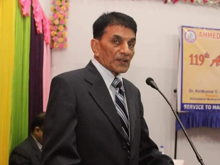 ઈન્ડીયન મેડીકલ એસોસિએશન ગુજરાત બ્રાન્ચના પ્રમુખ દેવેન્દ્ર પટેલ.