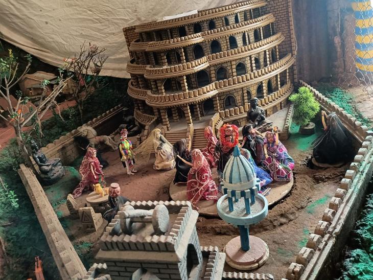 ઋષિ આશ્રમ, ઝરણા, નાના મોટા મકાનો બનાવ્યા