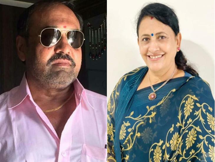 આરોપી પતિ દિનેશ જોશી અને તેની પત્ની સીમા જોશીની ફાઇલ તસવીર. - Divya Bhaskar