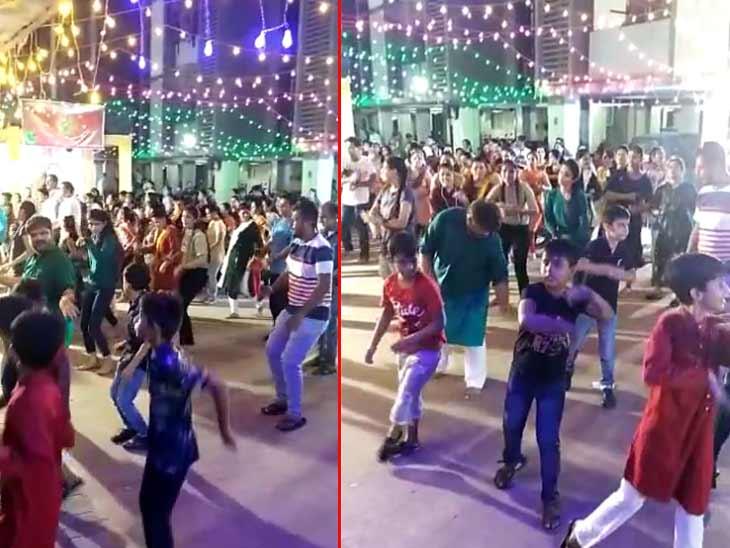 શાહીબાગમાં ટીમલી સ્ટાઈલમાં ગરબાની રમઝટ, સેટેલાઈટ, બોપલ, ઘાટલોડિયા, થલતેજ સહિત અમદાવાદમાં ગરબા રમતાં ખેલૈયા|અમદાવાદ,Ahmedabad - Divya Bhaskar