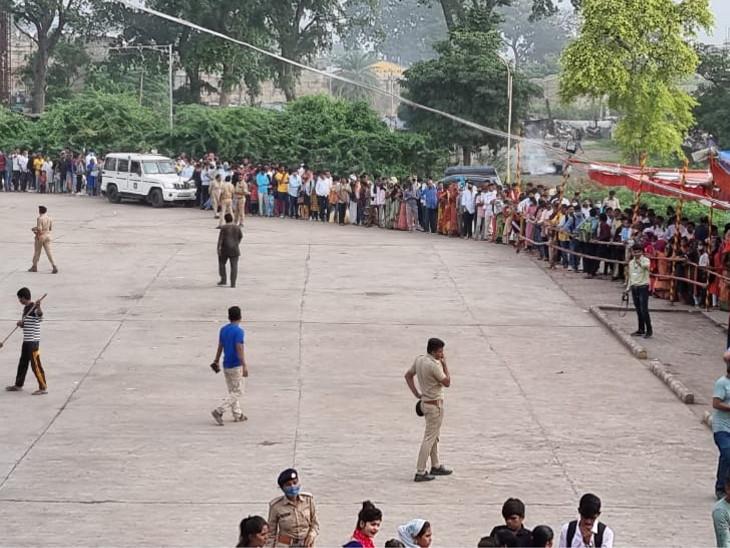 યાત્રિકોની સલામતી અને સુરક્ષાને લઈ પોલીસ વિભાગ દ્વારા 800 પોલીસકર્મી સજ્જ છે