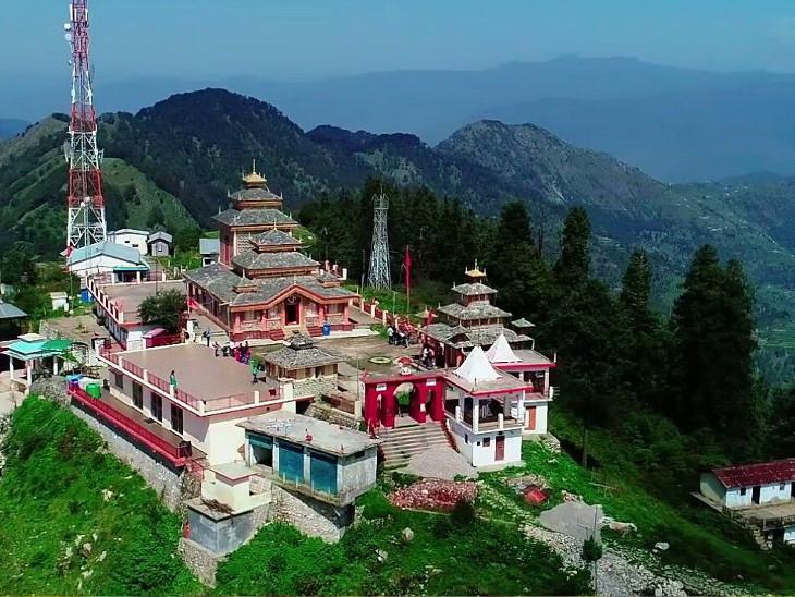 51 શક્તિપીઠમાં એક આ દેવી મંદિર સુરકુટ પર્વત ઉપર છે, લગભગ 10,000 ફૂટની ઊંચાઈએ આ તીર્થ છે