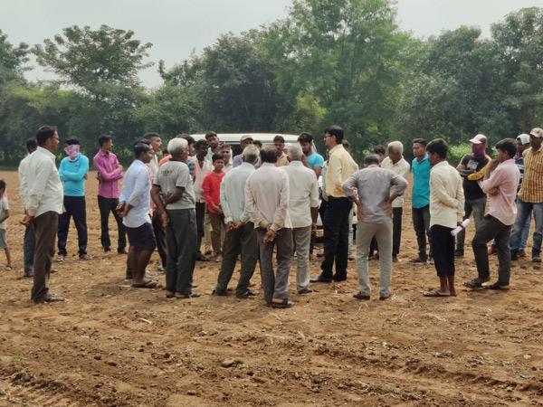 ગોધરાના બોડીદ્રા બુઝર્ગ ગામે ગ્રીન કોરિડોરની કામગીરી અટકાવી દેવાઇ. - Divya Bhaskar