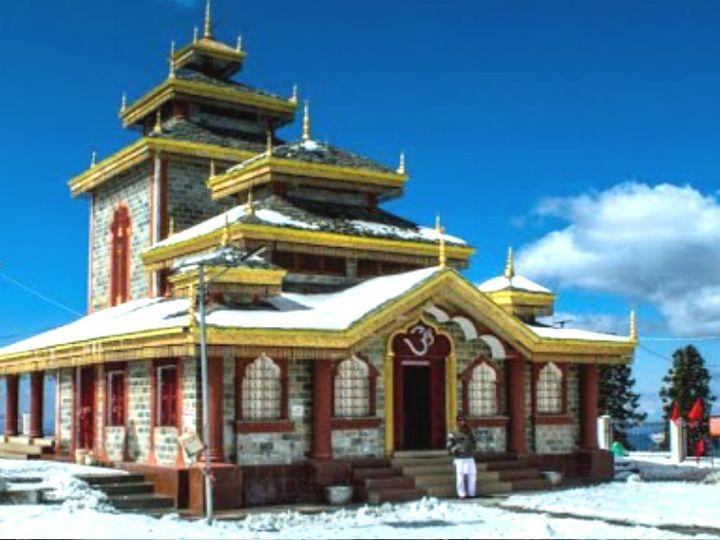 સુરકંડા દેવી મંદિરમાં પ્રસાદ સ્વરૂપે ઔષધિ મળે છે, અહીં દેવી સતીનું માથું પડ્યું હતું|ધર્મ,Dharm - Divya Bhaskar
