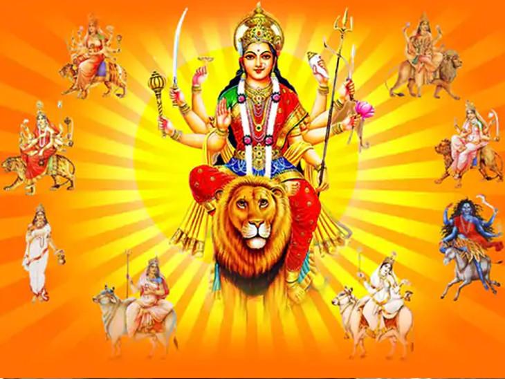 દેવીનું સ્વરૂપ પોઝિટિવ ફેરફારની પ્રેરણા આપે છે, તેમના શસ્ત્ર ઉત્સાહ અને મહેનત કરવાનો સંકેત આપે છે|ધર્મ,Dharm - Divya Bhaskar