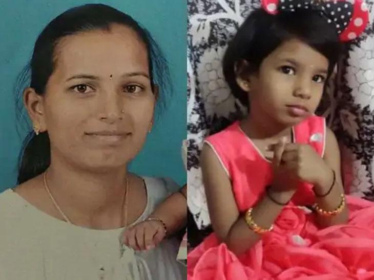 પાડોશીએ કહ્યું - ઘરમાં છેલ્લે પુત્રી કાવ્યા ગઈ હતી, તેના છેલ્લા શબ્દો, 'મમ્મી, દરવાજો ખોલ...' વડોદરા,Vadodara - Divya Bhaskar