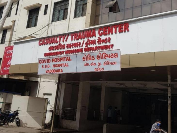 રોગચાળાના ભરડામાં આવેલા દર્દીઓની એસજી હોસ્પિટલમાં સારવાર શરૂ કરવામાં આવી છે. - Divya Bhaskar
