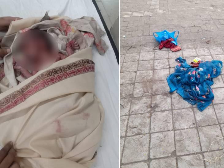 સુરતમાં નવજાત બાળકીને પ્લાસ્ટિકની થેલીમાં ભરી કચરાના ઢગલામાં ત્યજી દેવાઈ, શ્રમજીવીએ સારવાર માટે તેને સિવિલ હોસ્પિટલમાં ખસેડી|સુરત,Surat - Divya Bhaskar
